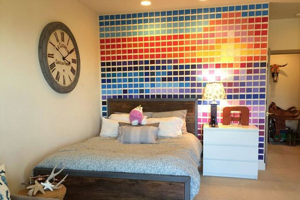 Paint Chip wall art - Mommy Scene