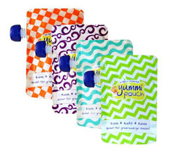 Yummi Pouch reusable food pouches - Revelae Kids