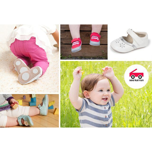 Spring Baby Shower Faves - See Kai Run Smaller Crib Shoes