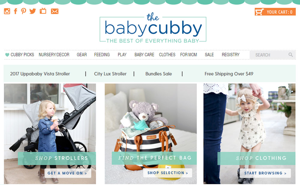 The Baby Cubby shopping resource for moms - Mommy Scene