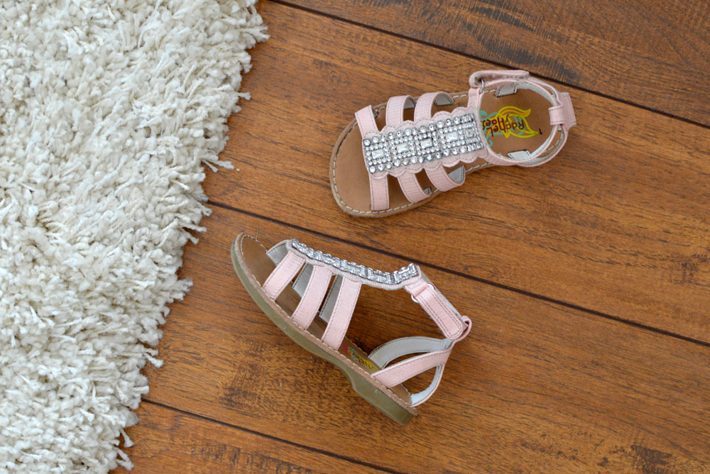 Trendy essentials girl's gladiator sandals - Mommy Scene