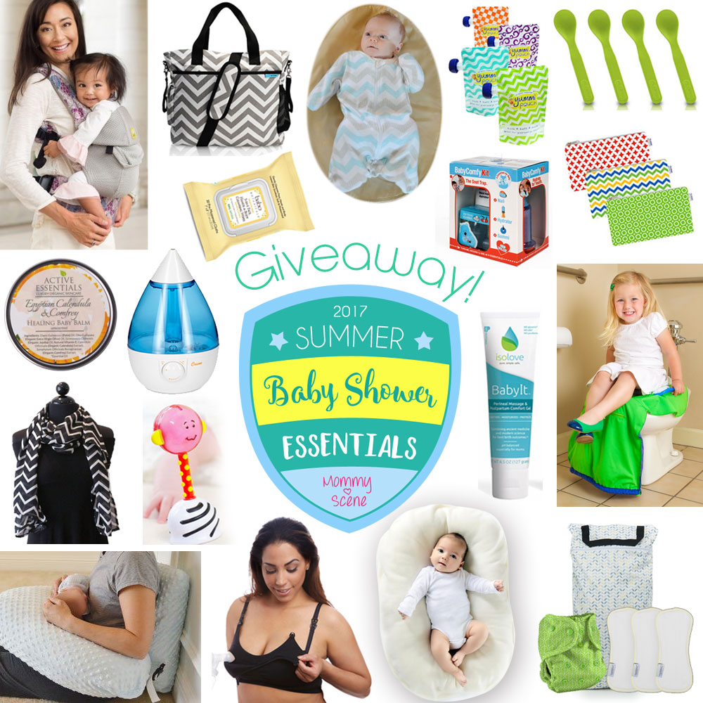 Baby Shower Essentials Gift Guide Giveaway - Mommy Scene