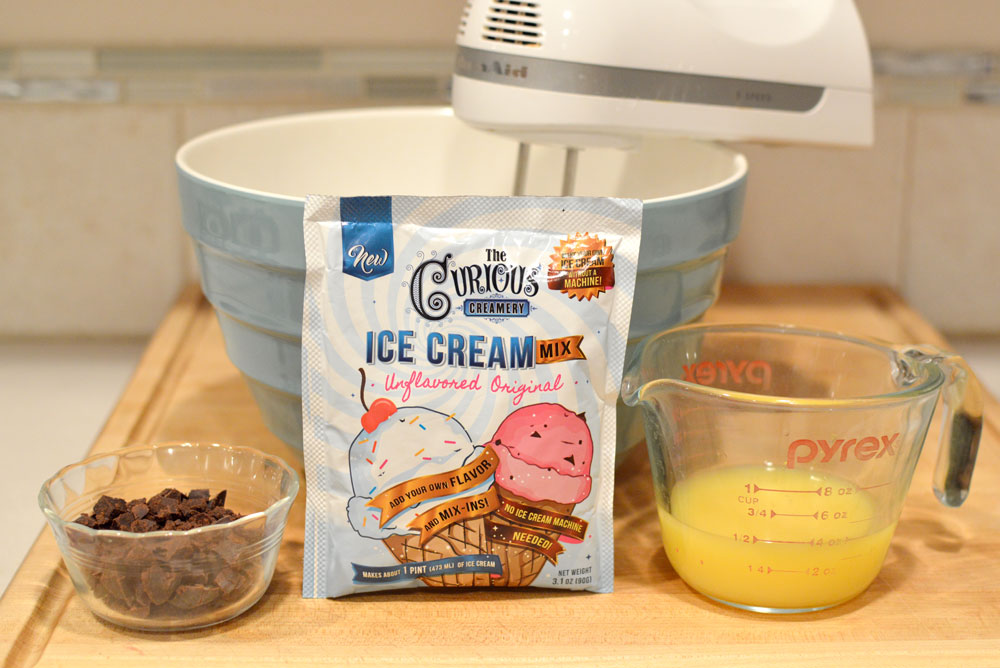 The Curious Creamery homemade Orange ice cream - Mommy Scene