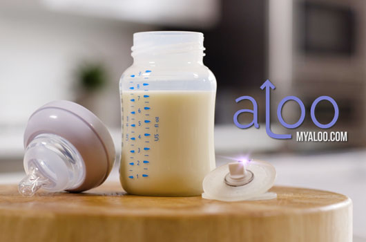 aLoo Baby Bottle Valve - Mommy Scene holiday gift guide