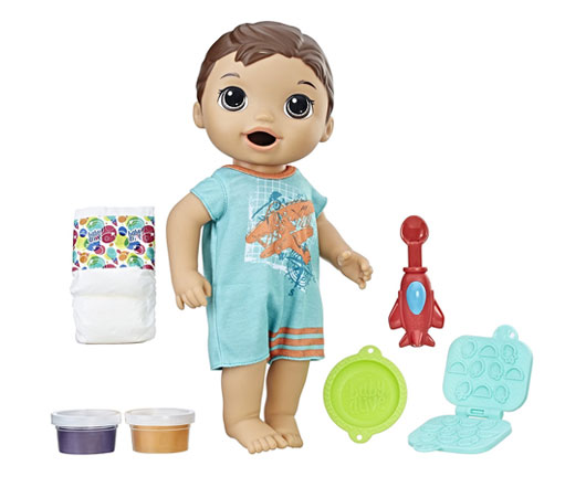 Baby Alive Snackin Luke Doll - Mommy Scene holiday gift guide