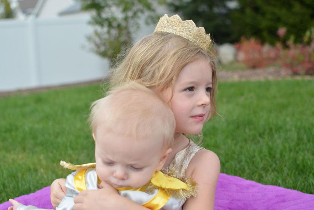 Homemade Little Prince Infant Halloween Costume - Mommy Scene
