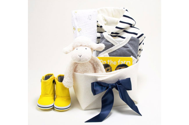 Bonjour Baby Baskets - Mommy Scene Holiday Gift Guide