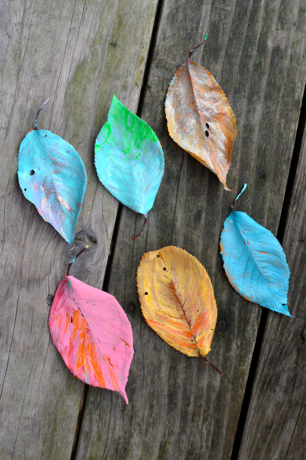 Easy Leaf-Inspired Art for Kids
