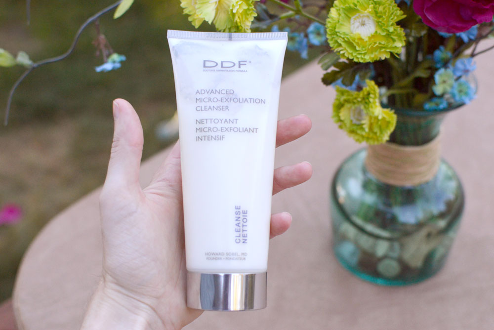 DDF Advanced Micro Exfoliation Cleanser review - Mommy Scene