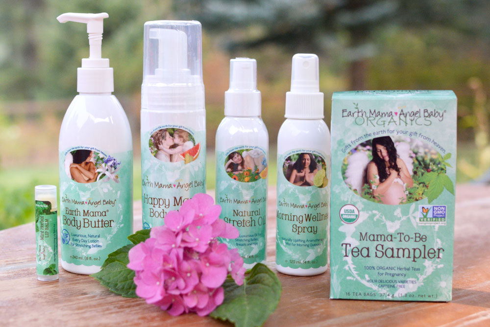 Earth Mama natural products for moms to be - Mommy Scene