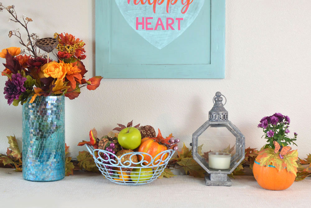 Easy and Beautiful Fall Decorations - Mommy Scene