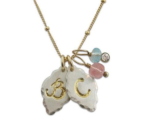 Elegant Initial Necklace from Isabelle Grace Jewelry - Mommy Scene Holiday Gift Guide