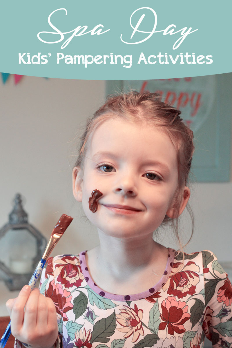 Kids Spa Day activities and pampering ideas