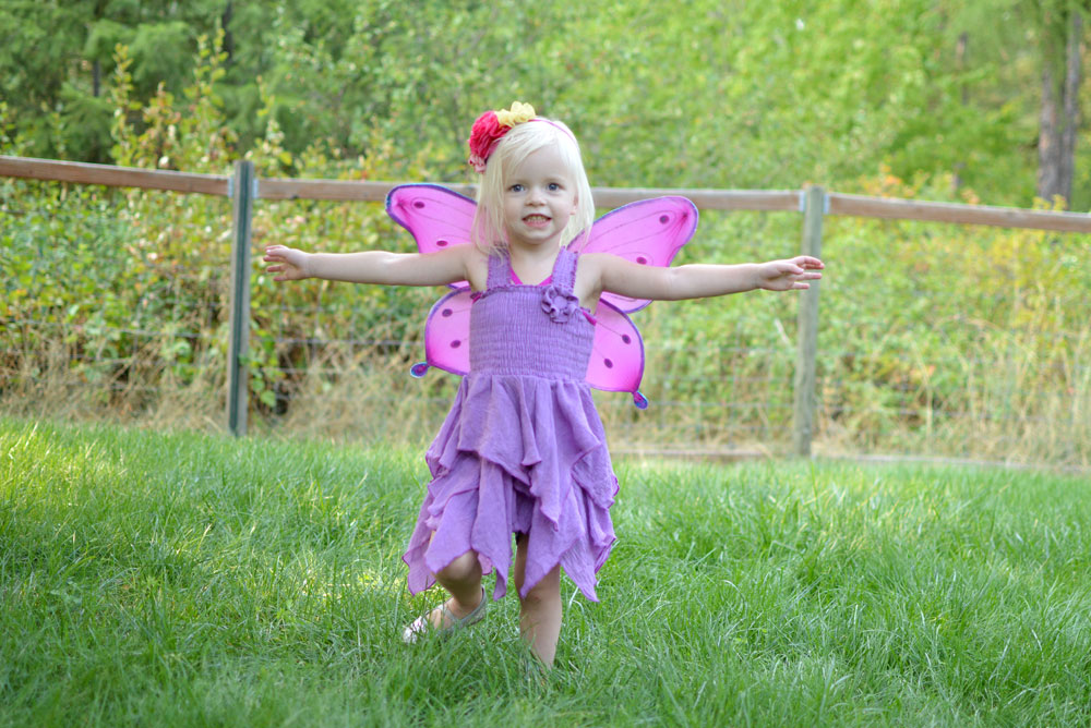 Leleforkids little girl fairy dress - Mommy Scene