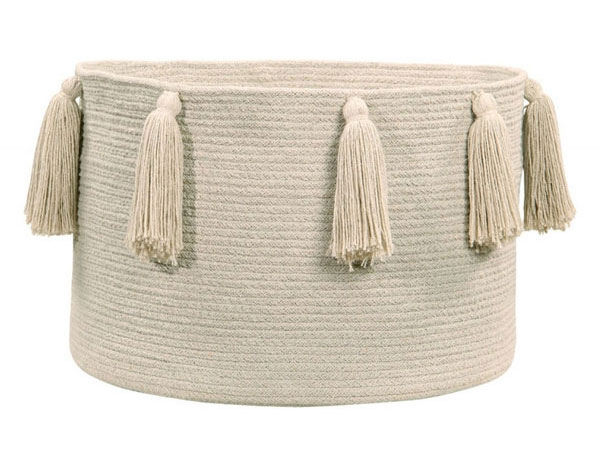 Lorena Canals Tassels Baskets - Mommy Scene Holiday Gift Guide