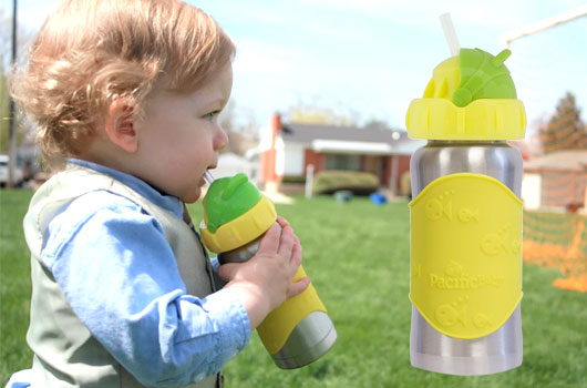 Pacific Baby insulated baby bottle - Mommy Scene holiday gift guide