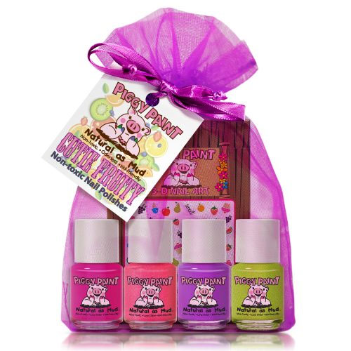 Piggy Paint natural nail polish gift set - Mommy Scene