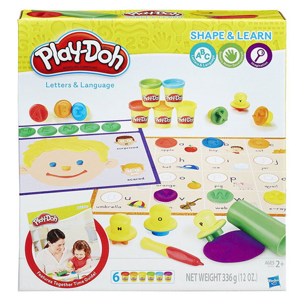Play-Doh Letters and Language Set - Mommy Scene Holiday Gift Guide