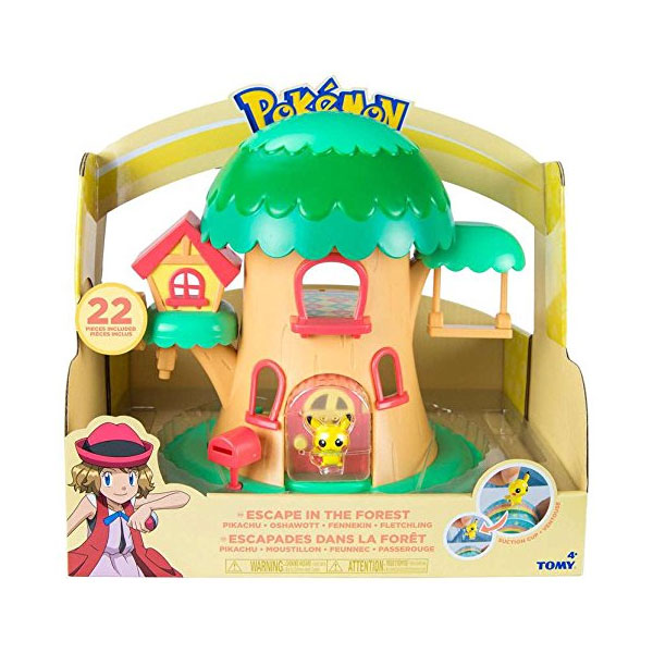Pokemon Petite Pals Escape in the Forest Playset - Mommy Scene Holiday Gift Guide