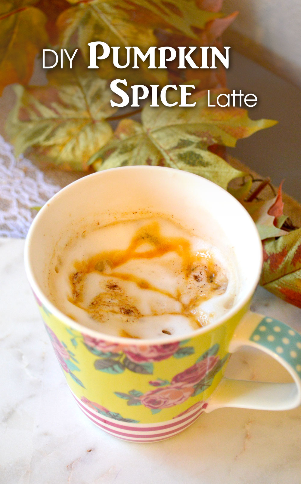 Easy DIY Pumpkin Spice Latte - Mommy Scene