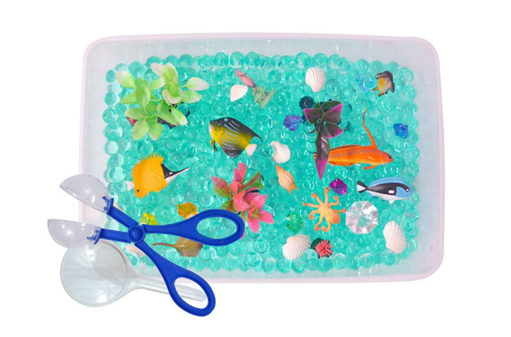 Revelae Kids Ocean Discovery Box and Sensory Bin - Mommy Scene holiday gift guide