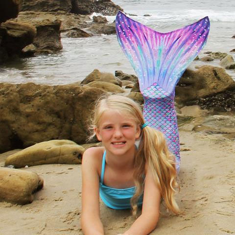 Suntail Mermaid fin - Mommy Scene Holiday Gift Guide