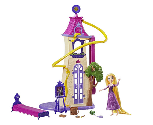 Tangled Swingling Locks Rapunzel Castle - Mommy Scene holiday gift guide