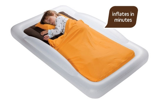 The Shrunks Indoor Tuckaire Toddler Travel Bed - Mommy Scene holiday gift guide
