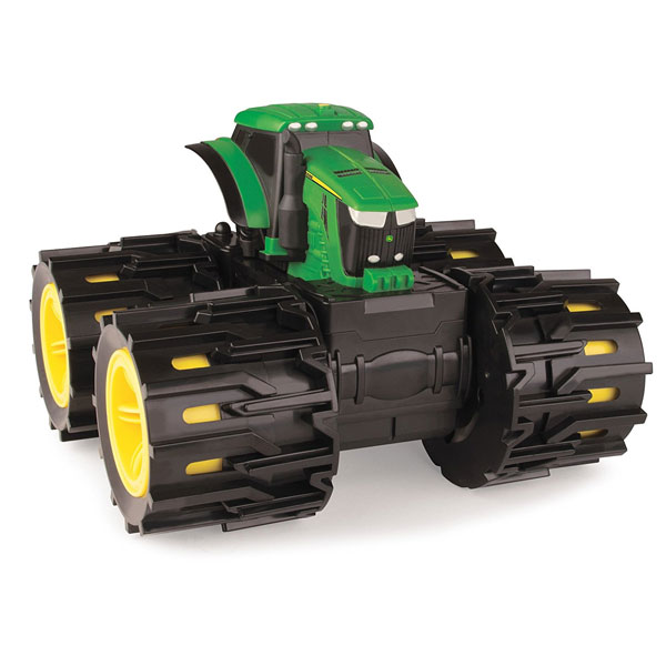 TOMY John Deere Monster Treads Mega Monster Wheels - Mommy Scene Holiday Gift Guide