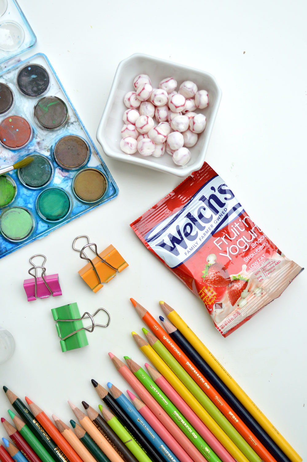 Back to School supplies and Welch's Fruit 'n Yogurt Snacks - Mommy Scene