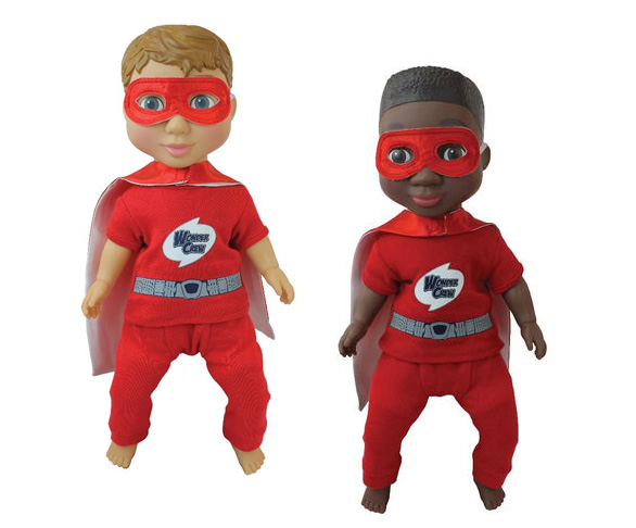 Wonder Crew dolls by Playmonster - Mommy Scene Holiday Gift Guide