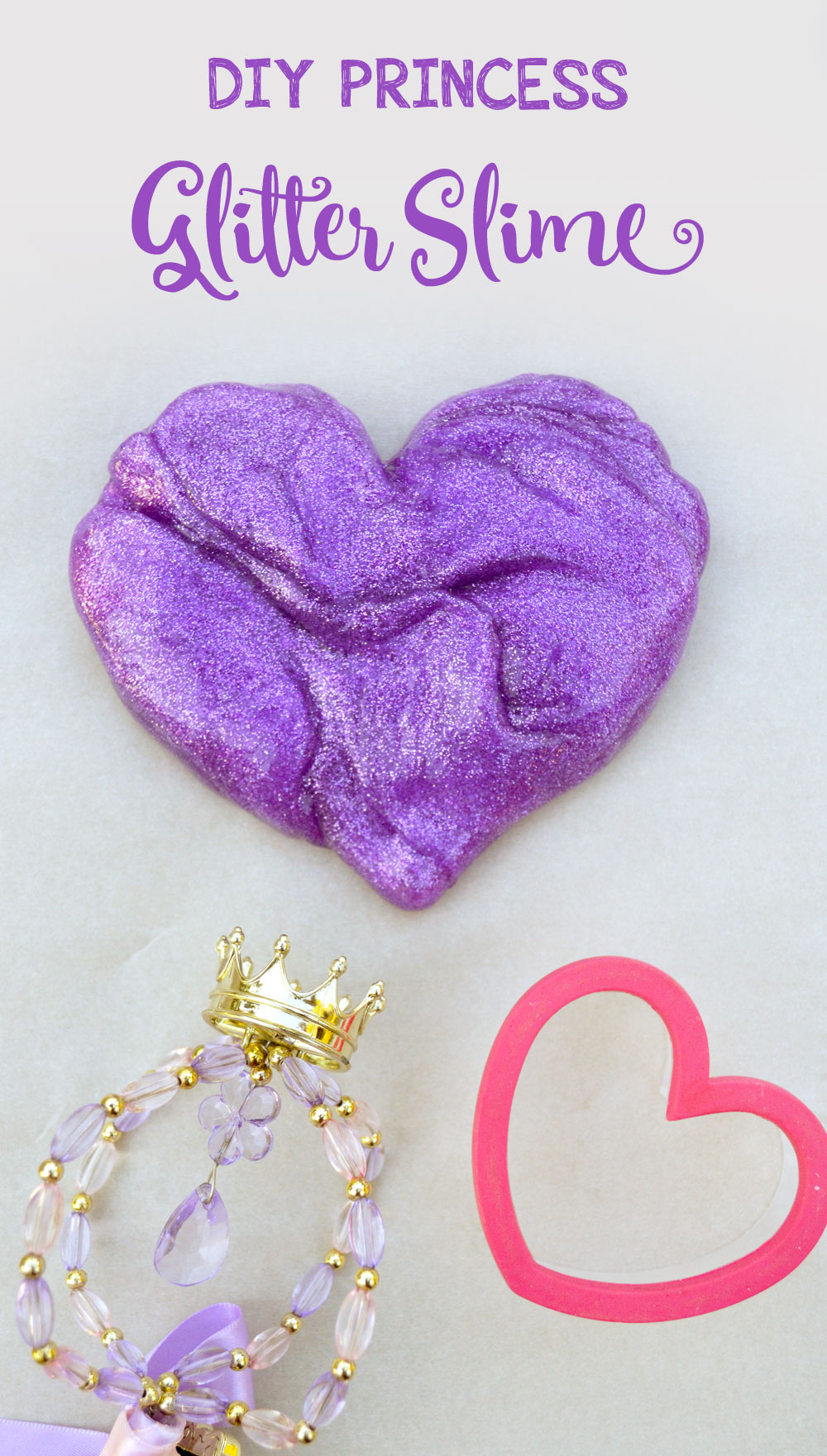 Homemade glitter slime for kids with no borax - Mommy Scene
