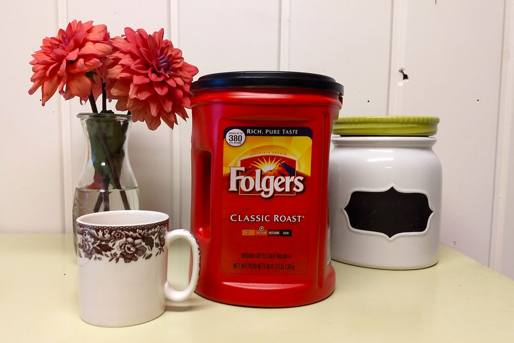 Folgers Coffee share a cup and story - Mommy Scene