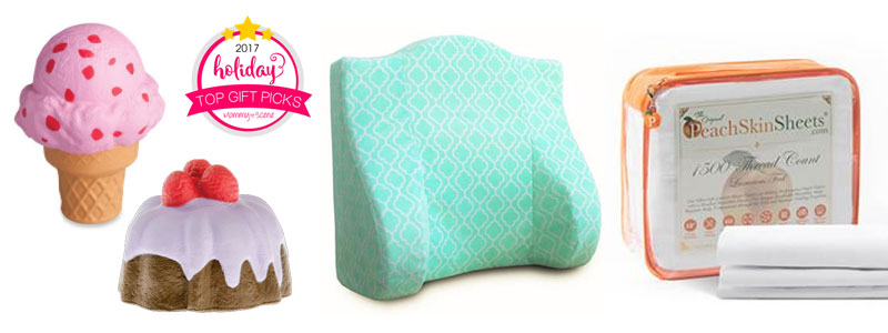 Mommy Scene top gift picks giveaway - Soft'n Slo Squishies, Back Buddy, Peach Skin Sheets