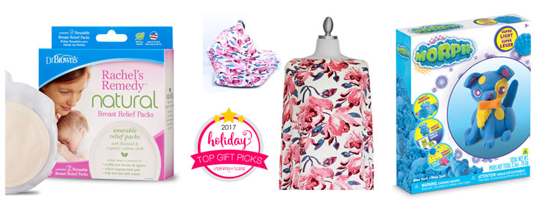 Mommy Scene top gift picks giveaway - Rachel's Remedy, Covered Goods, Morph