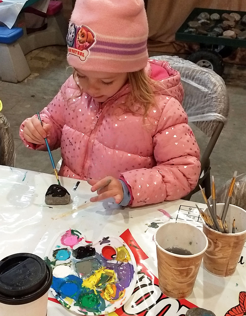 Rock Painting at New Leaf Nursery Fall Festival Coeur d'Alene - Mommy Scene