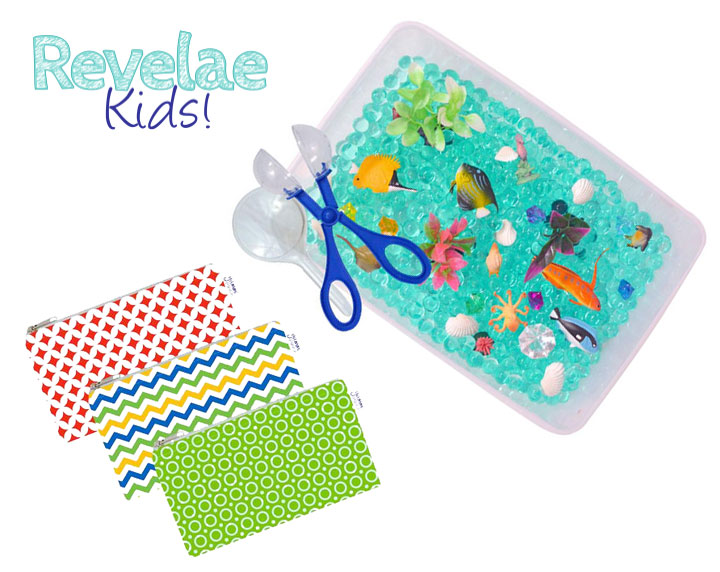 Ocean Exploration Discovery Box and Cloth Snack Bags by Revelae Kids - Mommy Scene