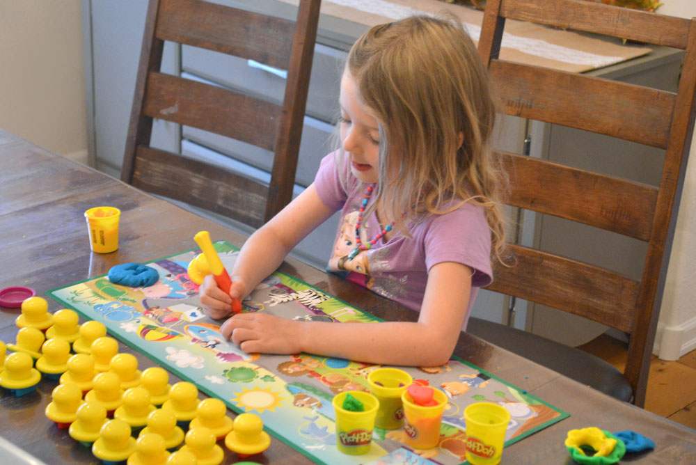 Play-Doh Letters and Language Set for preschool - Mommy Scene