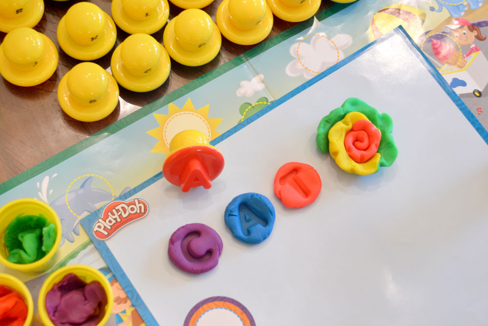 Play-Doh Letters and Language Set for kids preschool - Mommy Scene