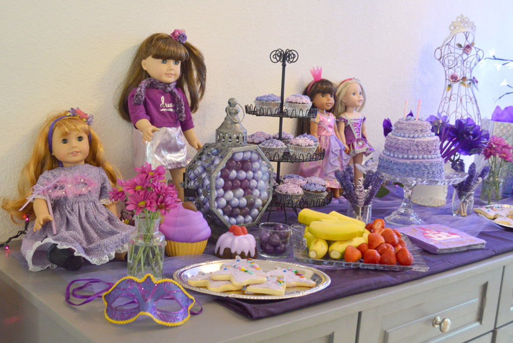 Princess Birthday Party purple theme - Mommy Scene