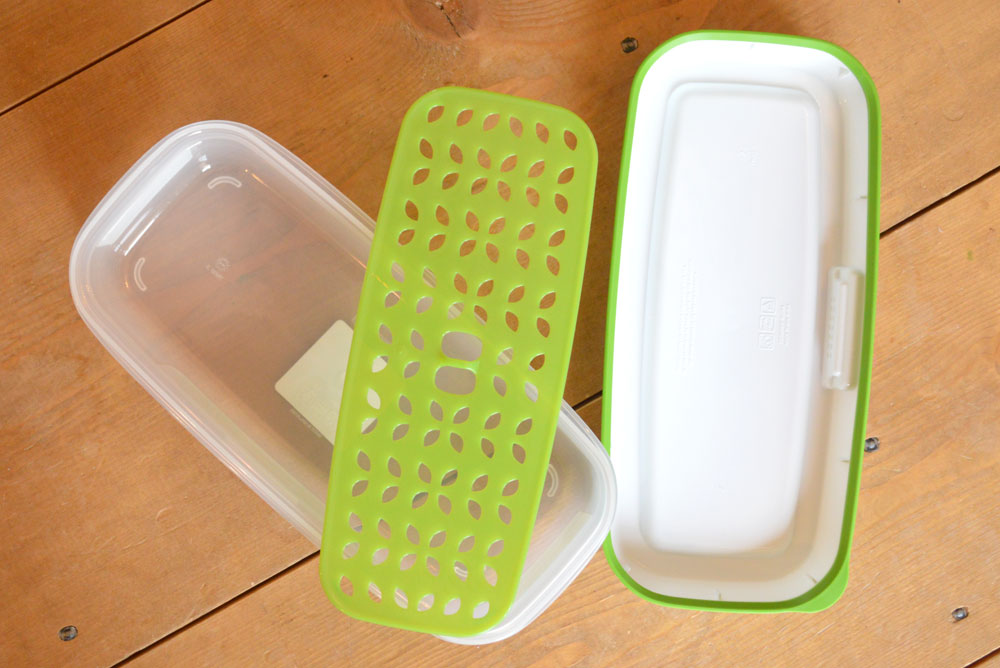 Rubbermaid FreshWorks produce storage containers - Mommy Scene