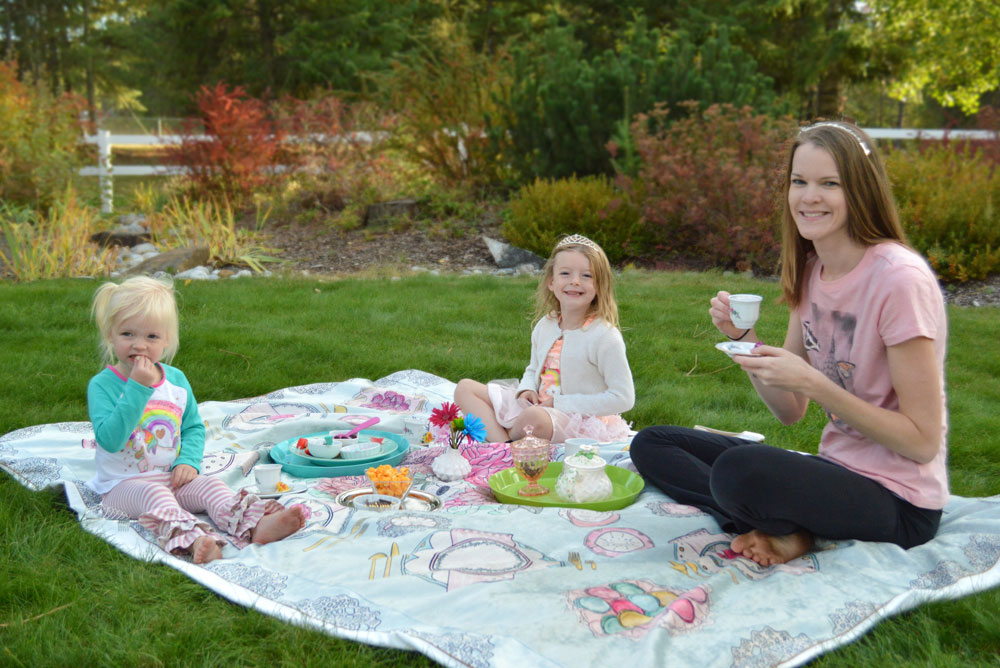 Teach Kids Manners and Etiquette with a Tea Party - Tinseltot play mat