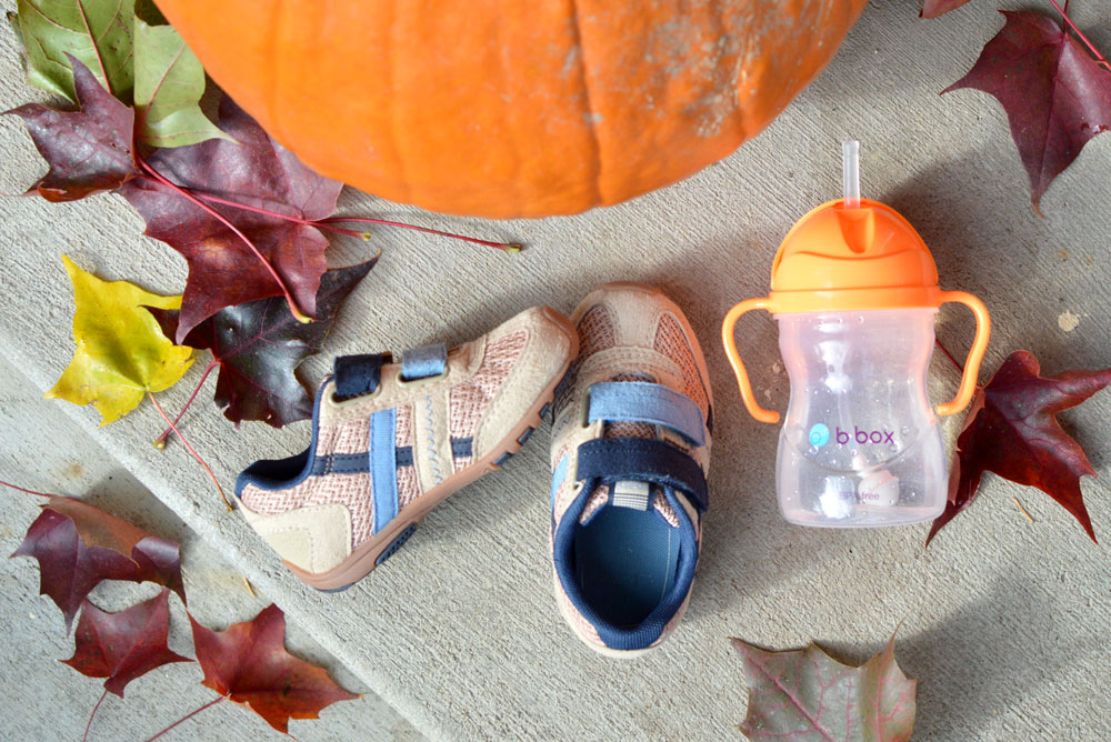 pediped Flex shoes and Bbox sippy cup - Mommy Scene