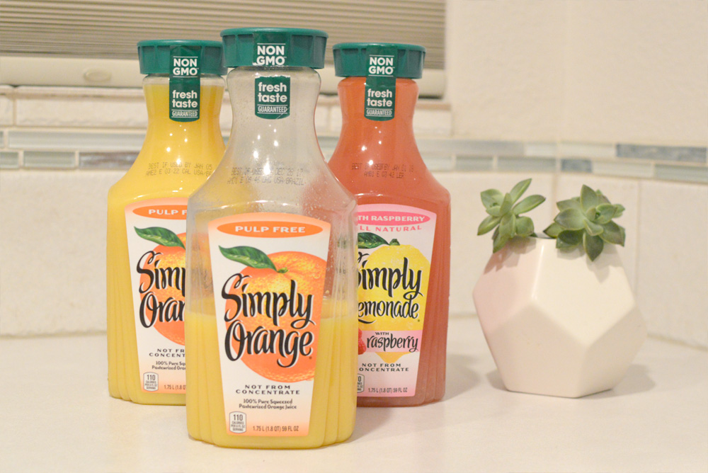 Sam's Club Simply Juice Orange no pulp and raspberry lemonade - Mommy Scene