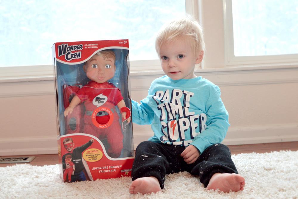 Wonder Crew dolls for boys - Mommy Scene