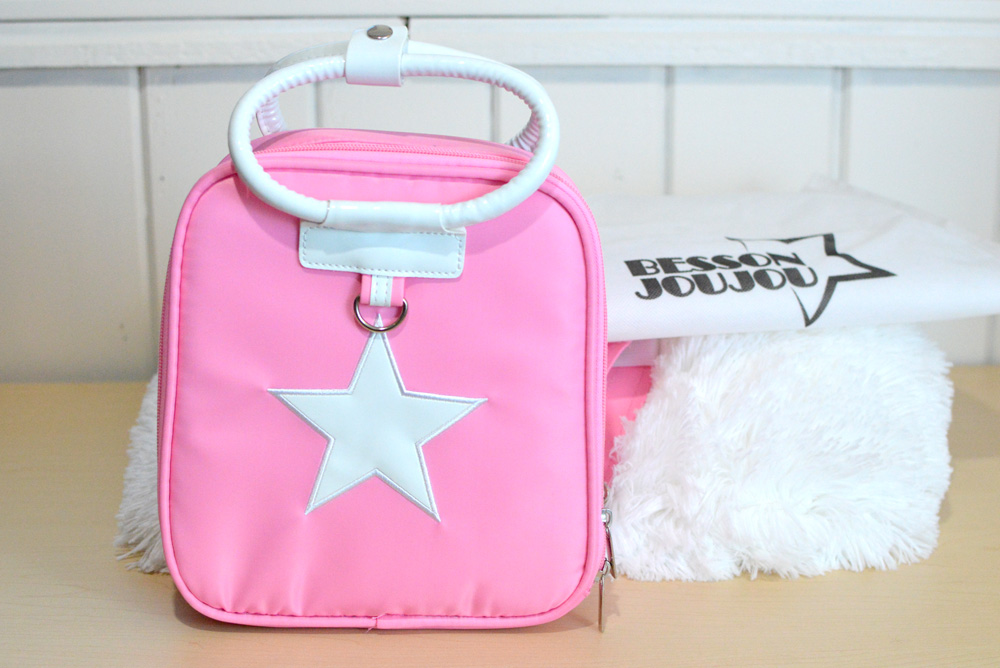Gabby Box pink star backpack for girls - Mommy Scene