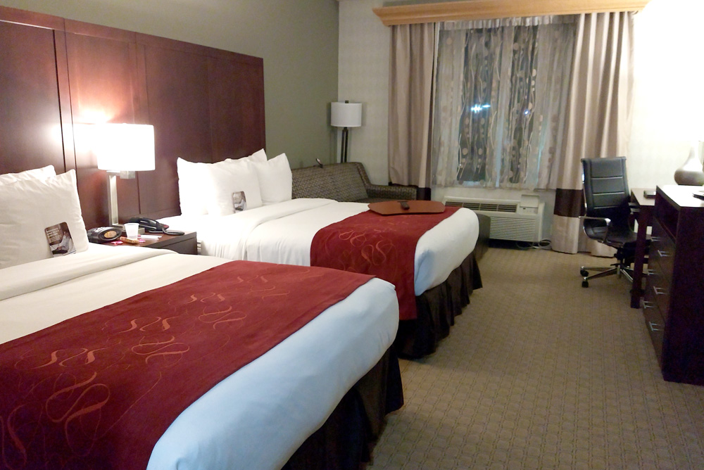 Comfort Suites Tukwila great family hotel rooms - Mommy Scene