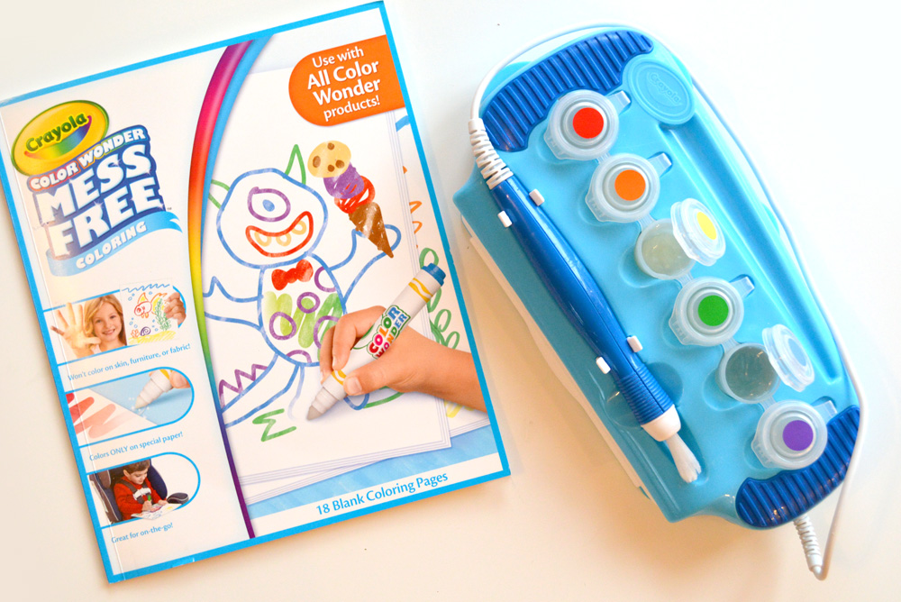 Crayola Color Wonder Magic Light Brush kids' STEM activity - Mommy Scene
