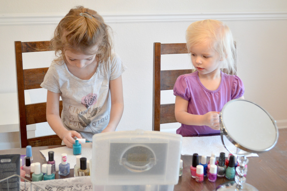 Scented nail polish and little girl manicures - Mommy Scene