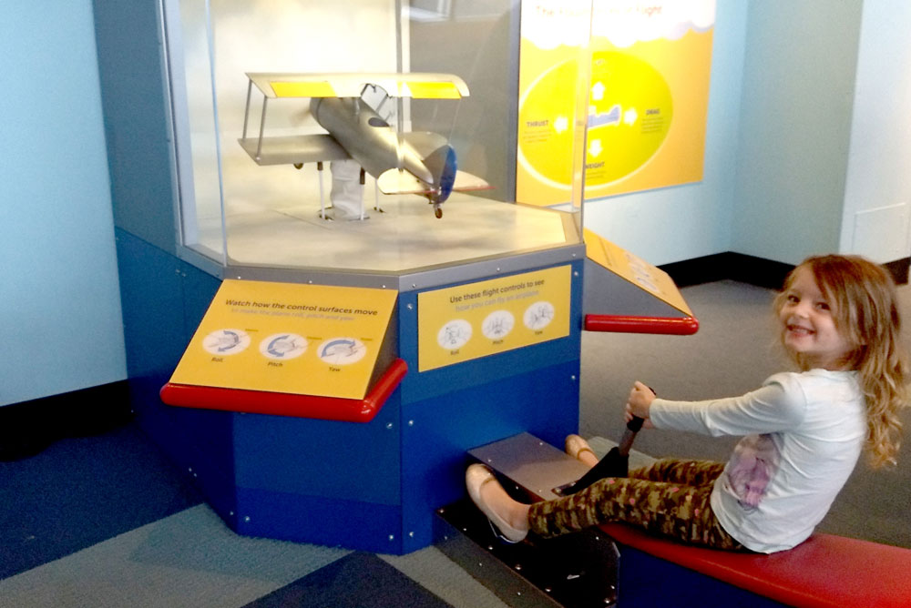 Seattle Museum of Flight Kids Activity Zone - Pacific Northwest family trip